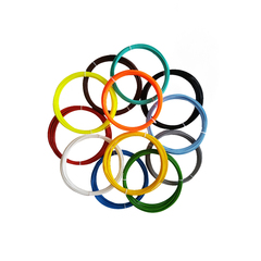 Набор пластика ABS для 3D ручки 12 цветов
