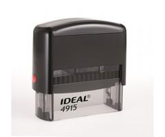 IDEAL 4915 Оснастка для штампа 70х25мм черная