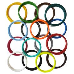 Набор пластика ABS для 3D ручки 14 цветов