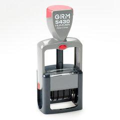 GRM 5430 HUMMER Датер с полем для текста (цифровой)