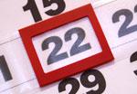 Курсор для календарей шириной 34-38 см