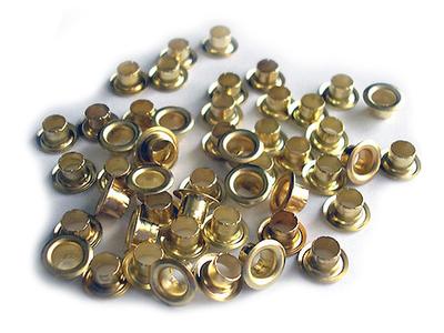 Люверсы золото D 4 мм