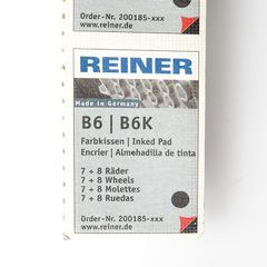 Сменная подушка для нумератора Reiner