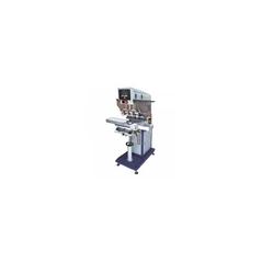 Тампопечатный станок SP-846SC четырехкрасочный шаттл