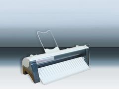 WARRIOR 22881-6B E - аппарат для нарезки визиток, рез с полями